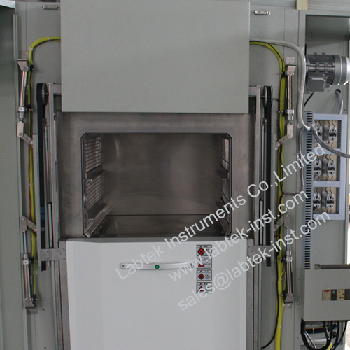 Thermal-Shock-Test-Chamber-Lift-system-Labtek