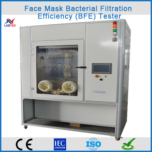 Face Mask Bacterial Filtration Efficiency (BFE) Tester