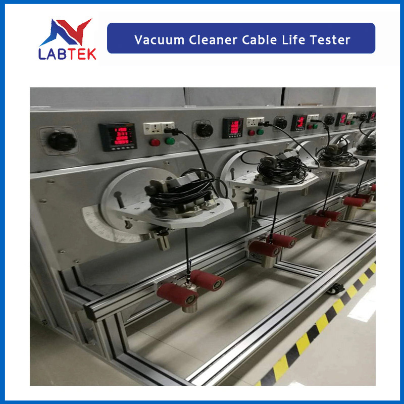 Vacuum Cleaner Cable Life Test Machine